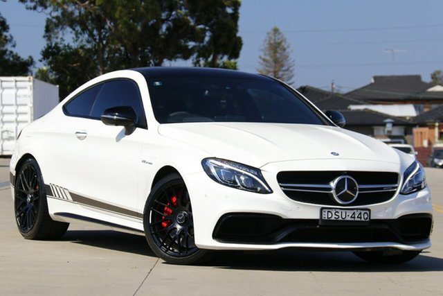 Used Mercedes-AMG C63 S C , 2016 Mercedes-AMG C63 S C White 7 Speed Automatic Coupe
