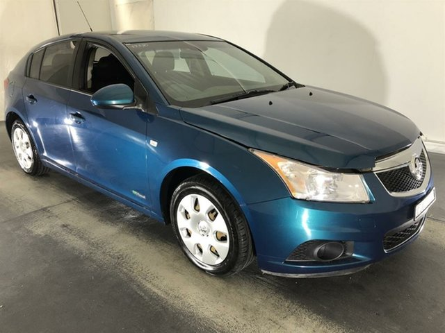 Used Holden Cruze JH Series II MY12 CD, 2012 Holden Cruze JH Series II MY12 CD Blue 6 Speed Sports Automatic Hatchback