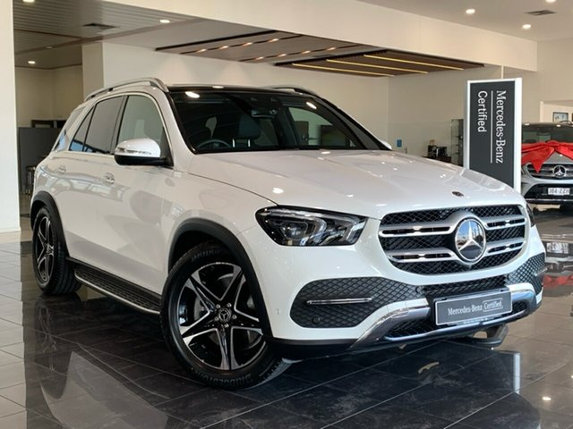 Used Mercedes-Benz GLE-Class V167 GLE450 9G-Tronic 4MATIC Hervey Bay, 2019 Mercedes-Benz GLE-Class V167 GLE450 9G-Tronic 4MATIC White 9 Speed Sports Automatic Wagon