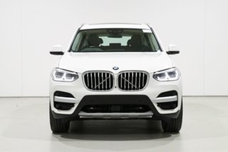2019 BMW X3 G01 xDrive30I White 8 Speed Automatic Wagon.