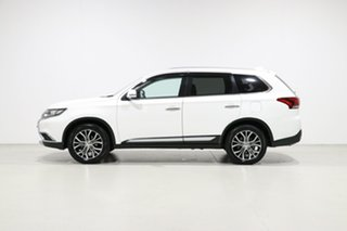 2016 Mitsubishi Outlander ZK MY16 LS (4x2) White 5 Speed Manual Wagon