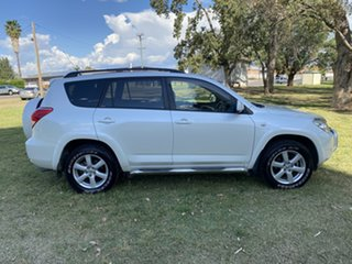 2006 Toyota RAV4 ACA33R Cruiser L Crystal Pearl 4 Speed Automatic Wagon
