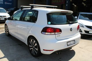 2012 Volkswagen Golf 1K MY13 GTD White 6 Speed Manual Hatchback