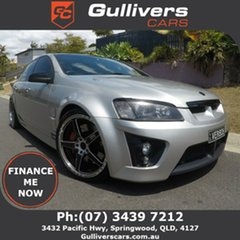 2007 Holden Special Vehicles ClubSport E Series R8 Silver 6 Speed Manual Sedan.