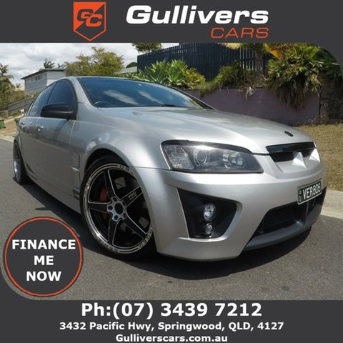 Used Holden Special Vehicles ClubSport E Series R8 Springwood, 2007 Holden Special Vehicles ClubSport E Series R8 Silver 6 Speed Manual Sedan
