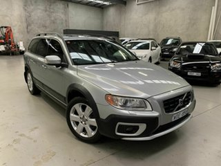 2007 Volvo XC70 BZ MY08 D5 LE Silver 6 Speed Sports Automatic Wagon.