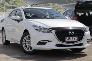 2017 Mazda 3 BN5476 Neo SKYACTIV-MT Snowflake White Pearl 6 Speed Manual Hatchback.