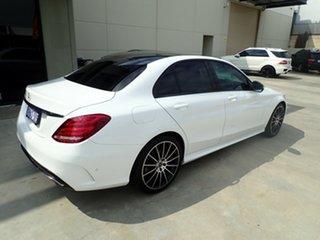 2017 Mercedes-Benz C200 205 MY17.5 White & Black 9 Speed Automatic G-Tronic Sedan