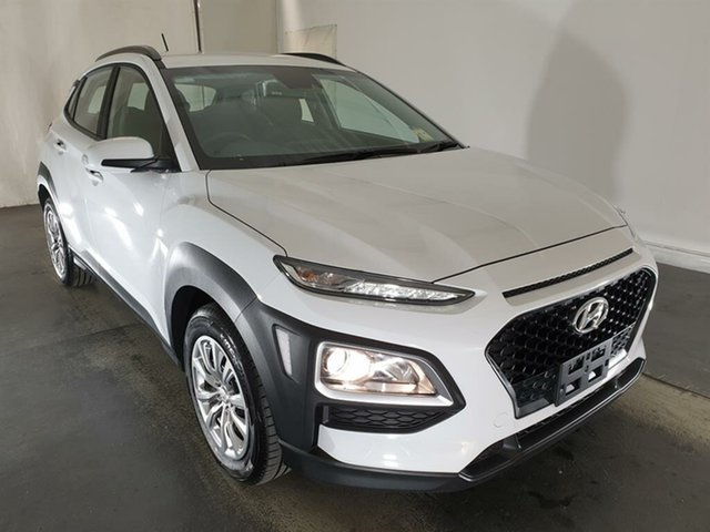 Used Hyundai Kona OS.2 MY19 Go 2WD, 2019 Hyundai Kona OS.2 MY19 Go 2WD White 6 Speed Sports Automatic Wagon