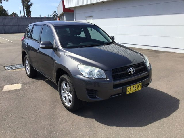 Used Toyota RAV4 ACA38R MY12 CV 4x2 Cardiff, 2012 Toyota RAV4 ACA38R MY12 CV 4x2 Graphite 5 Speed Manual Wagon