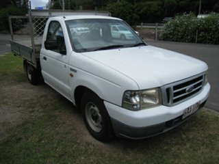 2003 Ford Courier PG GL White 5 Speed Manual Cab Chassis