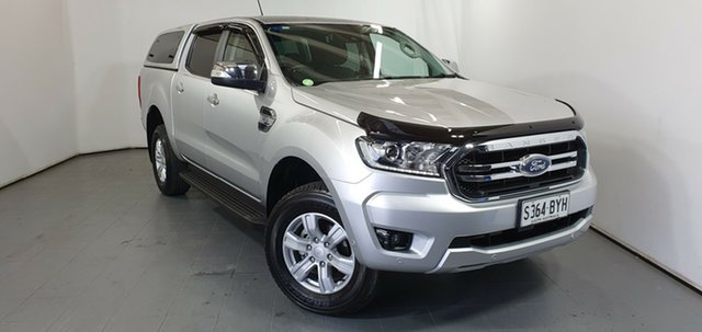 Used Ford Ranger PX MkIII 2019.00MY XLT, 2018 Ford Ranger PX MkIII 2019.00MY XLT Silver 6 Speed Sports Automatic Utility