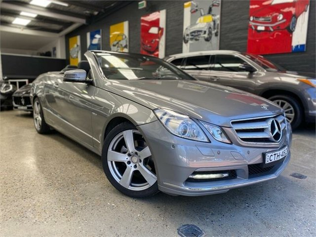 Used Mercedes-Benz E-Class A207 , 2012 Mercedes-Benz E-Class A207 E250 BlueEFFICIENCY Avantgarde Palladium Silver Sports Automatic