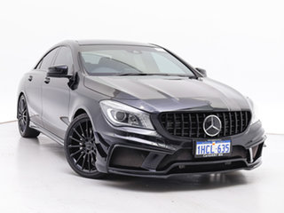 2015 Mercedes-Benz CLA45 117 MY15 AMG Black 7 Speed Automatic Coupe.