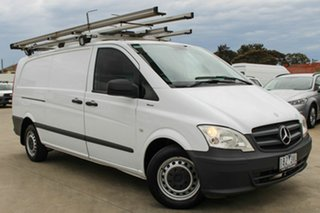 2014 Mercedes-Benz Vito 639 MY14 113CDI LWB White 5 Speed Automatic Van