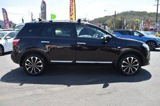 2013 Nissan Dualis J10W Series 4 MY13 Ti-L Hatch 2WD Nightshade 6 Speed Manual Hatchback.