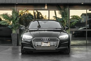 2017 Audi A5 F5 MY17 Sport S Tronic Black 7 Speed Sports Automatic Dual Clutch Coupe.