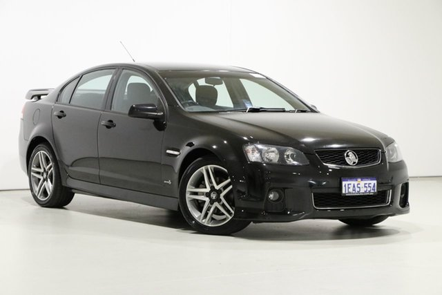 Used Holden Commodore VE II MY12 SV6, 2012 Holden Commodore VE II MY12 SV6 Black 6 Speed Automatic Sedan