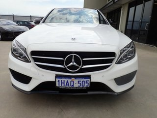 2017 Mercedes-Benz C200 205 MY17.5 White & Black 9 Speed Automatic G-Tronic Sedan