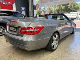 2012 Mercedes-Benz E-Class A207 E250 BlueEFFICIENCY Avantgarde Palladium Silver Sports Automatic