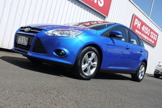 2012 Ford Focus LW MkII Trend PwrShift Blue 6 Speed Automatic Hatchback.