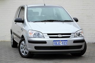 2003 Hyundai Getz TB FX Silver 5 Speed Manual Hatchback.