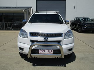 2014 Holden Colorado RG MY15 LTZ Crew Cab White 6 Speed Sports Automatic Utility.