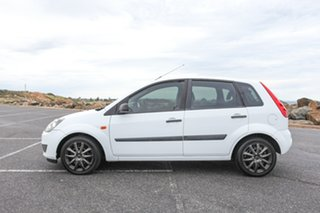 2008 Ford Fiesta WQ LX White 5 Speed Manual Hatchback