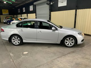 2010 Ford Falcon FG G6 Silver 5 Speed Automatic Sedan.