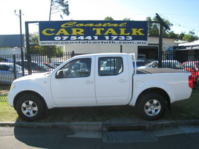 Used Nissan Navara D40 RX (4x4), 2009 Nissan Navara D40 RX (4x4) White 6 Speed Manual Dual Cab Pick-up