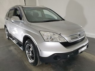 2008 Honda CR-V RE MY2007 4WD Silver 6 Speed Manual Wagon.