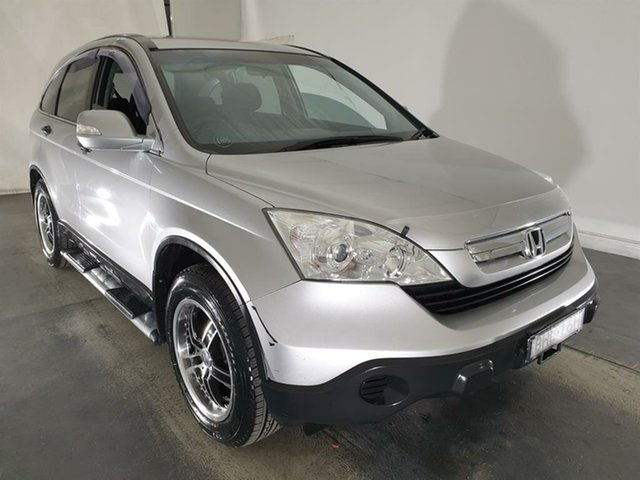 Used Honda CR-V RE MY2007 4WD, 2008 Honda CR-V RE MY2007 4WD Silver 6 Speed Manual Wagon