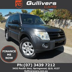 2011 Mitsubishi Pajero GLX Charcoal 4 Speed Automatic Wagon.