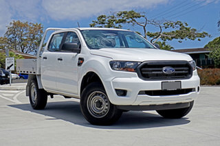 2020 Ford Ranger PX MkIII 2020.25MY XL Arctic White 6 Speed Sports Automatic Double Cab Chassis.