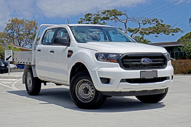 Used Ford Ranger PX MkIII 2020.25MY XL, 2020 Ford Ranger PX MkIII 2020.25MY XL Arctic White 6 Speed Sports Automatic Double Cab Chassis