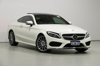2017 Mercedes-Benz C300 205 MY17 White 9 Speed Automatic G-Tronic Coupe.