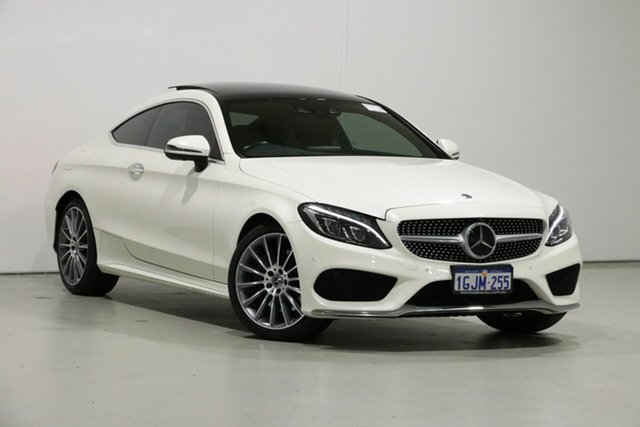 Used Mercedes-Benz C300 205 MY17 , 2017 Mercedes-Benz C300 205 MY17 White 9 Speed Automatic G-Tronic Coupe