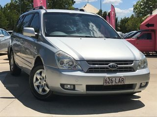 2008 Kia Carnival VQ MY08 EXE Silver 4 Speed Sports Automatic Wagon.