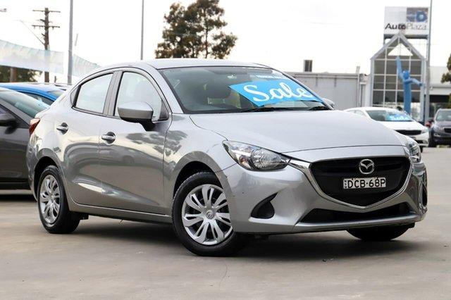 Used Mazda 2 DL2SAA Neo SKYACTIV-Drive Kirrawee, 2015 Mazda 2 DL2SAA Neo SKYACTIV-Drive Silver 6 Speed Sports Automatic Sedan