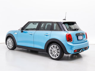 2015 Mini Cooper F55 S Electric Blue 6 Speed Automatic Hatchback