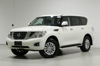 2018 Nissan Patrol Y62 Series 4 MY18 TI-L (4x4) White 7 Speed Automatic Wagon.