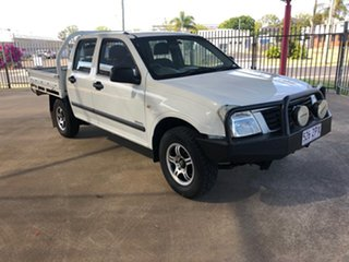 2005 Holden Rodeo RA LX White 5 Speed Manual Crew Cab Pickup.