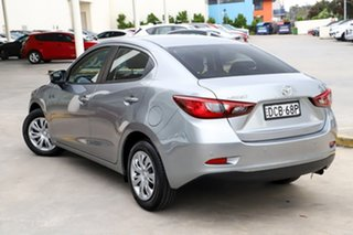 2015 Mazda 2 DL2SAA Neo SKYACTIV-Drive Silver 6 Speed Sports Automatic Sedan.