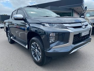 2020 Mitsubishi Triton Grey Manual Utility.