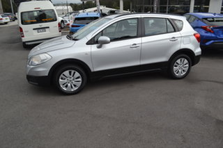 2014 Suzuki S-Cross JY GL Silver 7 Speed Constant Variable Hatchback.