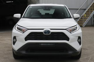 2019 Toyota RAV4 Axah54R GX eFour Glacier White 6 Speed Constant Variable Wagon