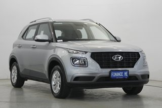 2019 Hyundai Venue QX MY20 Active Typhoon Silver 6 Speed Automatic Wagon
