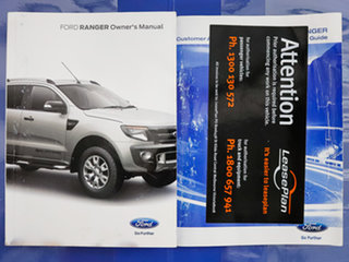 2015 Ford Ranger PX XL 3.2 (4x4) White 6 Speed Manual Cab Chassis