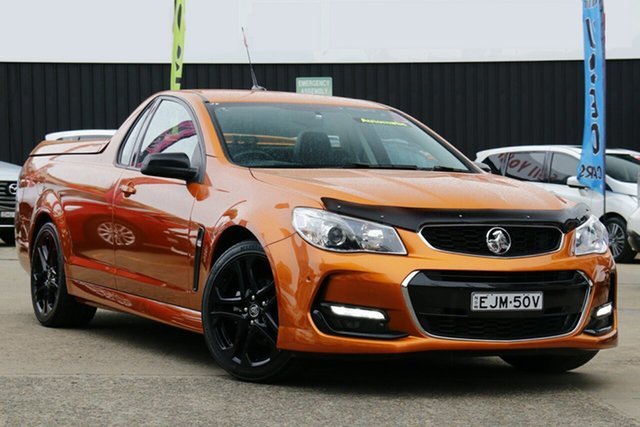 Used Holden Ute VF II SV6, 2017 Holden Ute VF II SV6 Tiger 6 Speed Automatic Utility