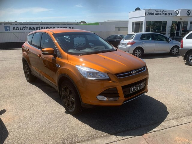 Used Ford Kuga TF MY15 Ambiente AWD, 2015 Ford Kuga TF MY15 Ambiente AWD Orange 6 Speed Sports Automatic Wagon